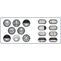 2.3.1 Светильники под лампу накаливания круг, овал (НПП, НПБ)