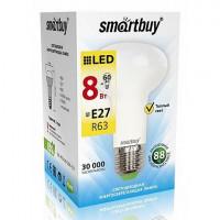 Светодиодная (LED) Лампа Smartbuy-R63-Рефлектор 08W/3000/E27