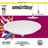 Светодиодная (LED) Лампа Smartbuy-UFO- 18W /4000/E27