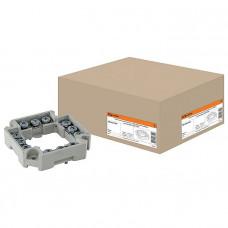 Клеммник для распаячных и установочных коробок с шагом 60мм, IP20, TDM
