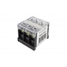 Блок зажимов БЗД-3 до 4,0 мм2 30A TDM