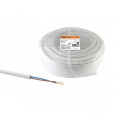 Провод ПВС 2х0,75 ГОСТ (100м), белый TDM