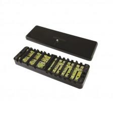 Коробка испытательная переходная ИКП (аналог ИК, ИКК, сталь) с прозр. крышкой TDM