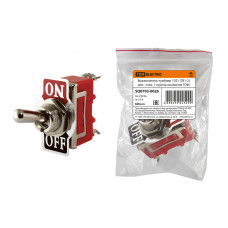 Выключатель-тумблер 1021 (ТВ1-2) вкл.- откл. 1 группа контактов TDM