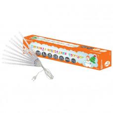"""Гирлянда """"Сосульки"""", падающий белый свет, 30 см, 8 шт в комплекте, 3,8 м, TDM"""