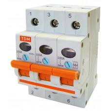 Выключатель нагрузки (мини-рубильник) ВН-32 3P 20A TDM*