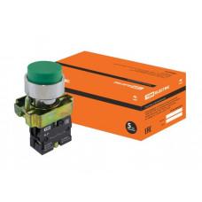 Кнопка BL31 без подсветки зеленый 1з TDM*