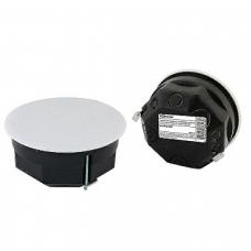 Распаячная коробка СП D103х50мм, крышка, метал. лапки, IP20, TDM