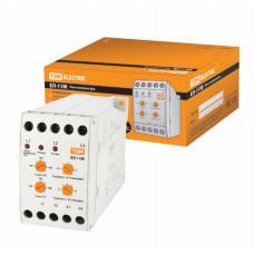 Реле контроля фаз серии ЕЛ-11М-3х380В (1нр+1нз контакты) TDM