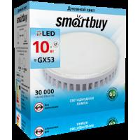 Светодиодная (LED) Tablet GX53 Smartbuy- 10W /4000K/Мат стекло (SBL-GX-10W-4K)