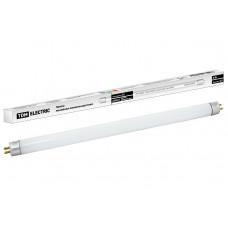 Лампа люминесцентная линейная двухцокольная ЛЛ-18Вт/765, T8/G13, 6500 К TDM