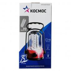 Фонарь кемпинговый аккумуляторный КОСМОС 6010LED 32хLED 4V 2Ah