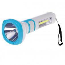 Фонарь светодиодный аккумуляторный КОСМОС (7035) 5W LED бок. панель СОВ 3Вт 3 реж.работы з/у