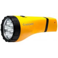 Фонарь светодиодный аккумуляторный КОСМОС Ас7005LED-BL (карман.,7LED,аккум.4В 1А,заряд 220)