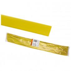 Термоусаживаемая трубка ТУТнг 2/1 желтая по 1м (50 м/упак) TDM