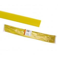 Термоусаживаемая трубка ТУТнг 6/3 желтая по 1м (50 м/упак) TDM