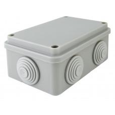 Распаячная коробка ОП 120х80х50мм, крышка, IP55, 6 вх. TDM