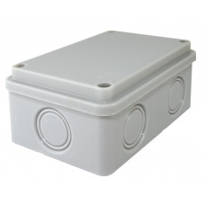 Распаячная коробка ОП 120х80х50мм, крышка, IP55, 6 вх., без гермовводов TDM