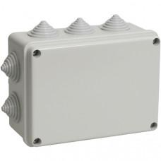 Распаячная коробка ОП 190х140х120мм, крышка, IP55, TDM
