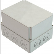 Распаячная коробка ОП 240х195х165мм, крышка, IP44 , кабельные ввода d28-3 шт., d37-2 шт., TDM