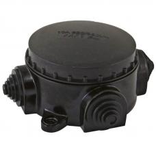 Коробка электромонтажная КЭМ 1-10-3Б ОП D78 мм IP44, 3-х рожк. (карболит) TDM