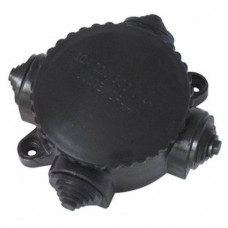 Коробка электромонтажная КЭМ 1-10-4Б ОП D78 мм IP44, 4-х рожк. (карболит) TDM