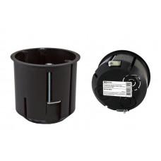 Установочная коробка СП D73х73мм, углубленная , саморезы, метал. лапки, IP20, TDM