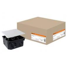 Распаячная коробка СП 110х110х50мм, крышка, IP20, TDM*
