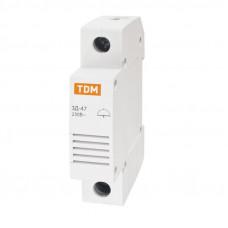 Звонок ЗД-47 на DIN-рейку TDM
