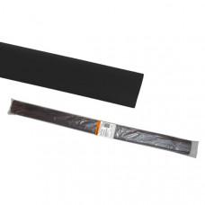 Термоусаживаемая трубка ТУТнг 16/8 черная по 1м (50 м/упак)