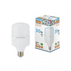 Лампа светодидная Т-30 Вт-230 В-6500 К-Е27 (100х178мм) НАРОДНАЯ
