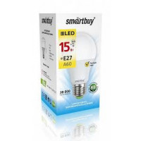 Светодиодная (LED) Лампа Smartbuy-A60- 15W /3000/E27