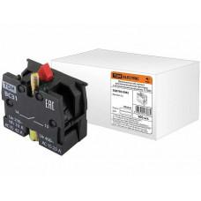 Доп. контакт для светосигн. арм. c мет. основанием 1р (1НЗ) TDM