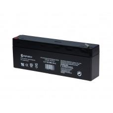 Аккумуляторная Батарея 12 В, 2.3Аh Alphabox SLAB 2.3-12 (12V, 2.3Ah) для охранных систем и т.п.