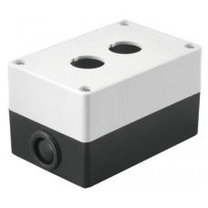 Корпус КП102 для кнопок 2места белый TDM*