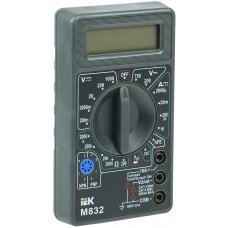 Мультиметр цифровой Universal M832В IEK