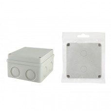 Распаячная коробка ОП 110х110х70мм, крышка на винтах , IP55, 8вх. TDM