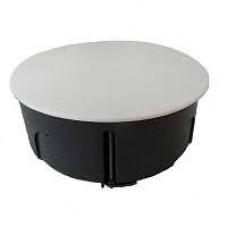 Распределительная коробка с крышкой D80, для бетонных стен