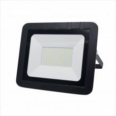 Прожектор с/дLEEK LE FL SMD LED7 100W CW BLACK (10) IP65 холодный белый