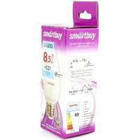 Светодиодная (LED) Лампа Smartbuy-C37-свеча- 8,5W /4000/E27