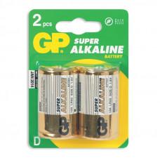 Элемент питания алкалиновые GP 13А-2S2 SUPER (R20)