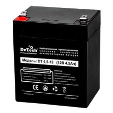 Батарея для UPS DeTech DT 4.5Aч/12В (70*90*107 мм)