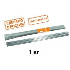 """Припой ПОС 61, пруток, ГОСТ 21931-76, Ø8 мм, длина 400 мм, 0,2 кг, серия """"Алмаз"""" TDM*"""