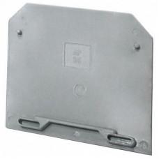 Заглушка для ЗНИ-2,5мм2 серая TDM