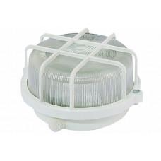 Светильник НПП 03-100-005.04 У3 (корпус и защитная сетка-квадрат, белый)