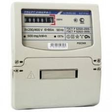 Счетчик электроэнергии трехфазный ЦЭ6803В 1 230В 5-60А 3ф.4пр.М7 Р32