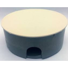 Коробка распаячная ф80 в бетон с крышкой