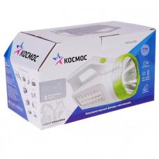 Фонарь аккумуляторный светодиодный КОСМОСАсс678Ex3ВтLED+16*SMD2835,3 режима работы 4В 1,2Ач