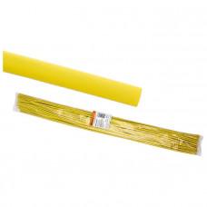 Термоусадочная трубка ТУТнг 6/3 желтая по 1м (50 м/упак)