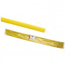 Термоусадочная трубка ТУТнг 8/4 желтая по 1м (50 м/упак)